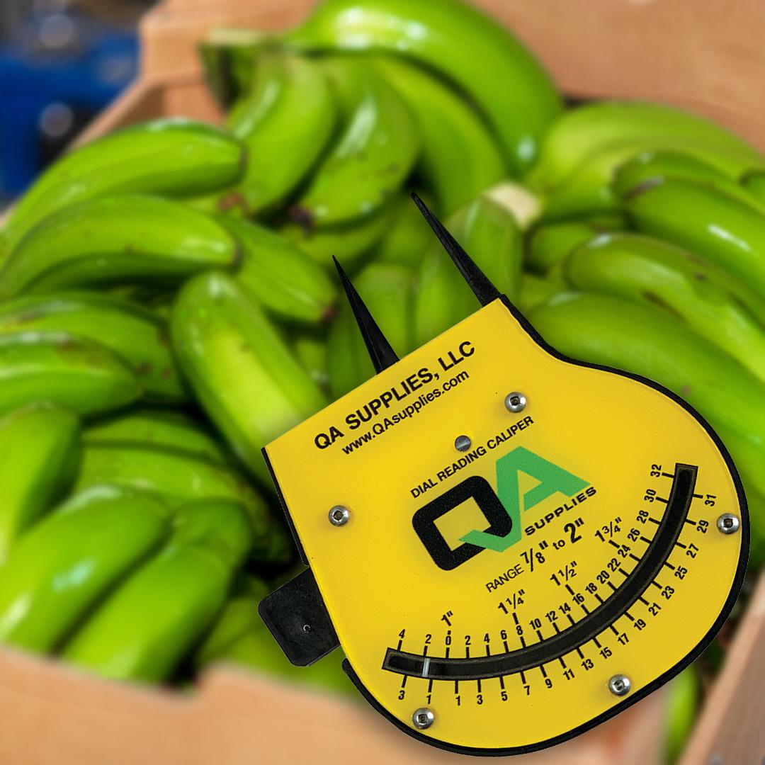 New QA Supplies Banana Caliper